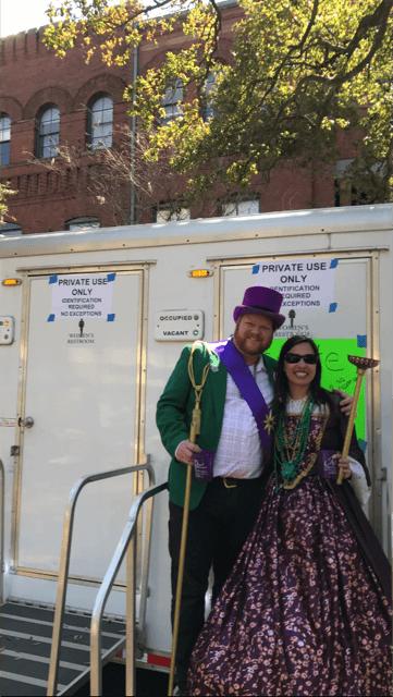 Saint Patrick's Day Rental Bathrooms