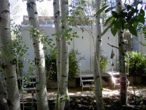 hidden wedding rental bathrooms