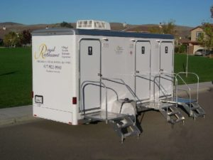Cleanest Portable Restrooms in the Industry