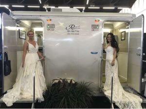 Dual Wedding Rental Bathrooms