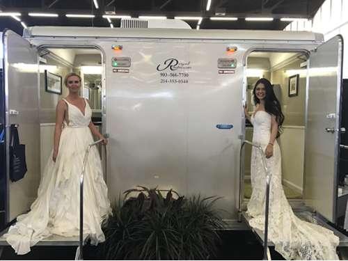 Rental Bathrooms for Upscale Weddings